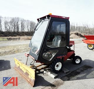 Toro GroundsMaster 325-D Tractor with Plow