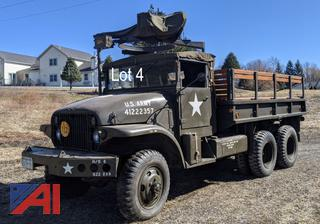 1954 GMC M135 6x6 2.5 Ton Military Truck