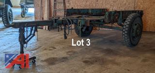 1944 Rex 2 1/2 Ton Military Utility Trailer