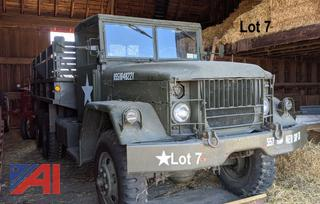 1960 Ford M109 6x6 Cargo Military Truck