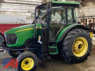 2008 John Deere 5525 Tractor with Boom