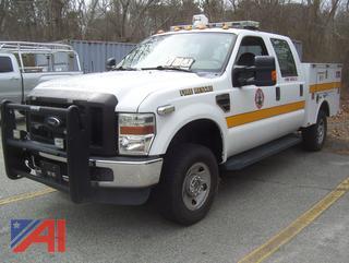 2010 Ford F350 Super Duty Crew Cab Utility Truck
