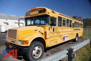 (#4) 2000 International 3800 School Bus