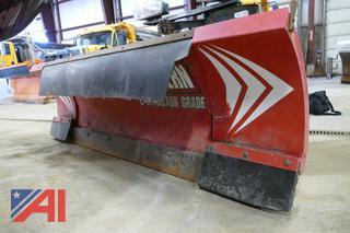 (#3) Western 8'- 10' Wide-Out Adjustable Wing Snowplow