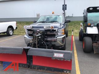 2011 Chevy Silverado 3500HD Pickup Truck with Plow
