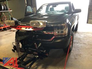 2016 Chevy Silverado 1500 Pickup Truck with Plow