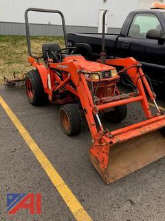 1993 Kubota B1550 Loader Tractor