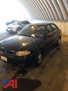 1999 Hyundai Accent 4DSD