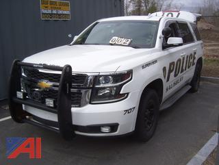 2015 Chevy Tahoe SUV/Police Vehicle