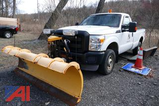(#1) 2011 Ford F350 XL Super Duty Pickup Truck with Plow