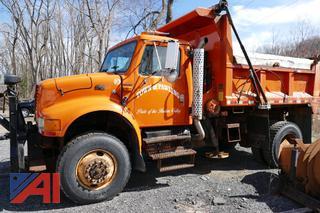 (#2) 1997 International 4800 Dump Truck with Sander
