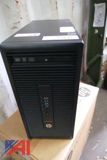 (#10) HP EliteDesk 705 G1 MT w/ Keyboards, New/Old Stock