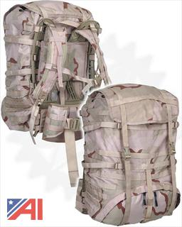 (#14) MOLLE II Large Equipment Pack, Desert Camo, New/Old Stock