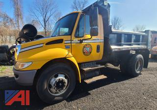 (#50) 2008 International 4300 SBA Dump Truck