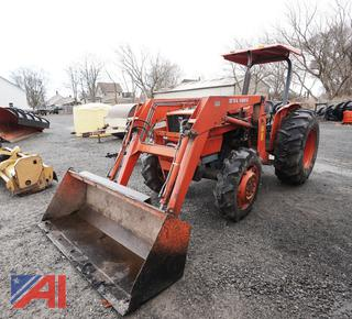 Early 1990's Kubota M5030SU Tractor Loader