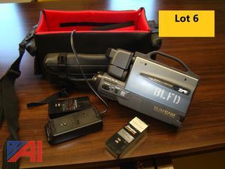 Sharp Slim Cam Video Camera