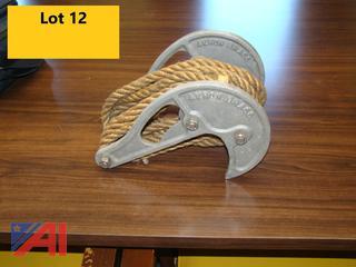 Akron Brass Hose Hoist/Edge Roller