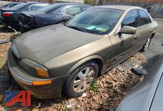 2002 Lincoln LS 4 Door Sedan