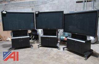 """Panasonic 65"""" Plasma Display & Smart Mobile Stand"""