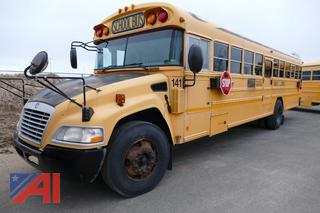 (#141) 2011 Blue Bird Vision School Bus with Wheel Chair Lift
