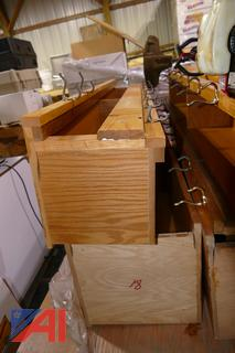 (#2) Wooden Coat Racks