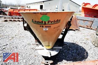 Land Pride #FS500 Broadcast Spreader