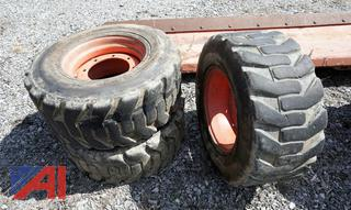 Bobcat Skid Steer Tires with Rims