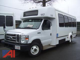 2016 Ford E450 Bus with Wheelchair Lift