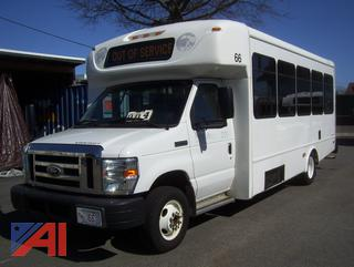 2014 Ford E450 Bus with Wheelchair Lift