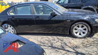 2002 BMW 745LI 4DSD