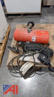 CM 2 Ton Electric Hoist and Pendant