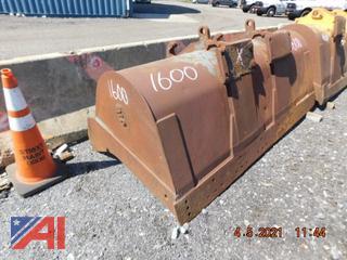 (#1600) 3 Yard JRB Loader Bucket