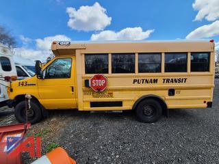 (#143) 2006 Ford E350 Super Duty Mini School Bus