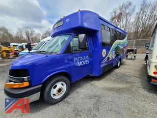 (#175) 2011 Chevy Express G3500 Mini School Bus with Wheelchair Lift