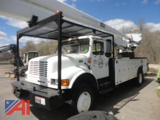 2001 International 4800 65' Bucket Truck