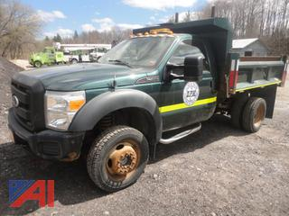 2011 Ford F450 Super Duty Dump Truck