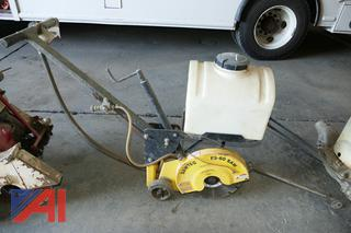 (#4) Sawtec FS-60 Walk Behind Concrete Saw