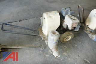 "(#5) Gorman-Rupp Durablue 4"" Diaphragm Mud Pump"