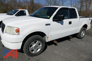 (#11) 2004 Ford F150 STX Extended Cab Pickup Truck