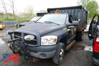 (#4) 2007 Dodge Ram 3500HD Landscaping Dump Truck