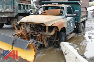 (#11)  2012 Dodge Ram 3500HD Dump Truck with Plow