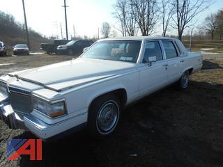 1991 Cadillac Brougham Elegance 4DSD