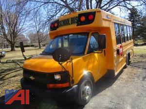 2012 Chevy Girardin/Express Mini School Bus