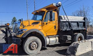 2011 International 7500 Dump Truck with Plow and Sander
