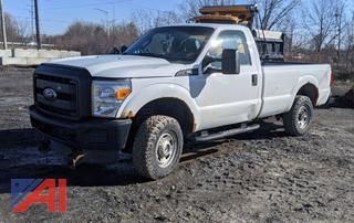 2011 Ford F250 XL Super Duty Pickup Truck with Plow