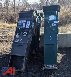 Parkeon Solar Powered Parking Kiosks