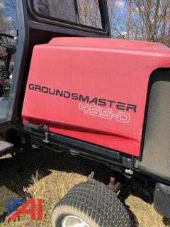 Groundmaster 455-D Mower with Snow Blower Attachment