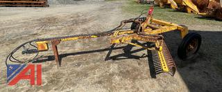 12' York Rake with Extensions Out
