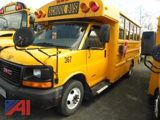 (#V367) 2010 Thomas/Savana G4500 Mini School Bus with Wheelchair Lift