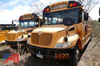 (#2823) 2008 International PB105 School Bus